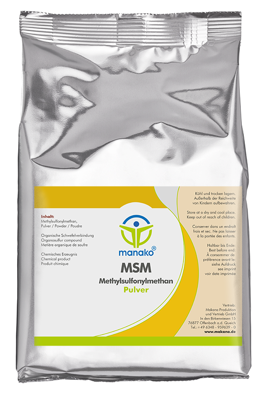 MSM (Methylsulfonylmethane) Powder, 1000 g
